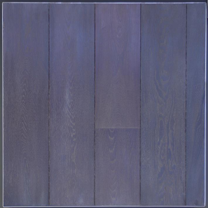 Eiken houten vloer gebakken + naturel